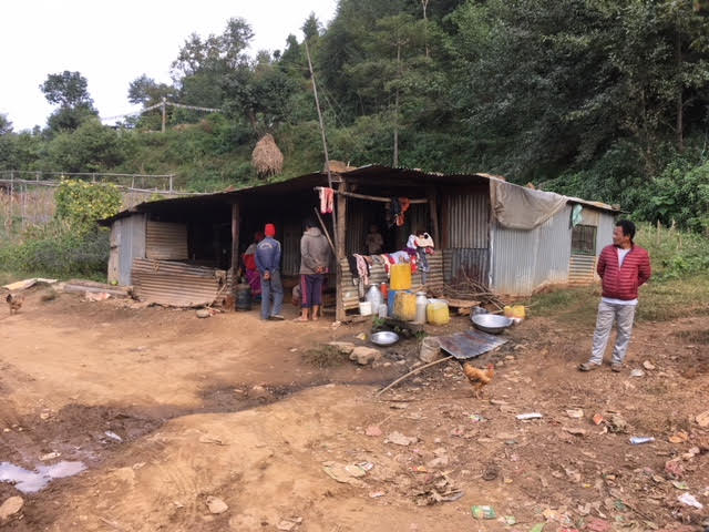 Many families are still living in what should have been temporary shelters. Due to the altitude these homes get very cold in winter, this is putting a lot of strain on the surrounding woodlands as trees are chopped down for fuel. (November 2017)