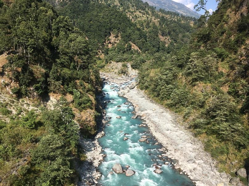 Dhudh Kosi River, Deusa