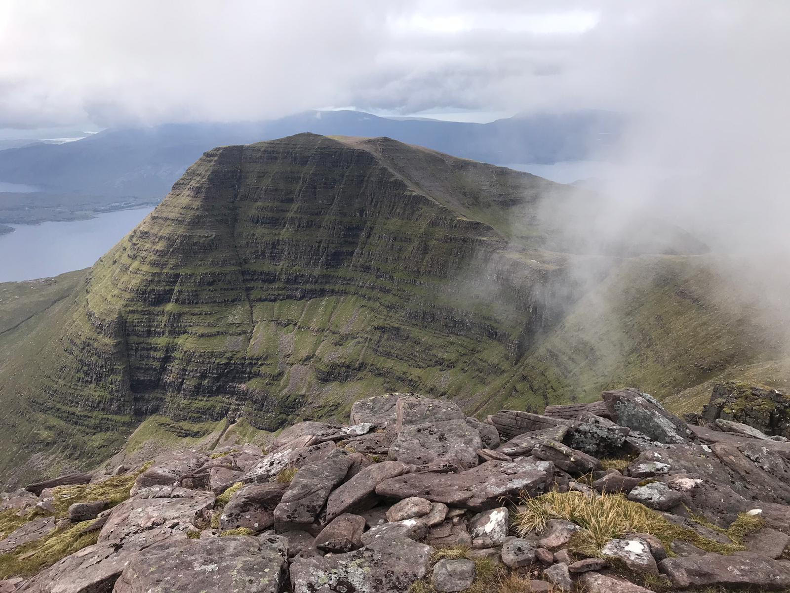 Tom na Gruagaich from Ben Alligin