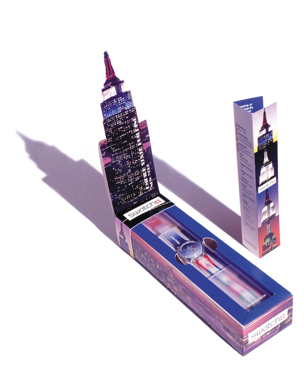 Empire State Building Watch Special Packaging