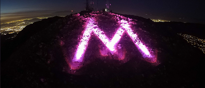 "The ""M"" - Moreno Valley, California"