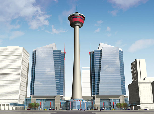 Calgary Tower - Calgary, Canada