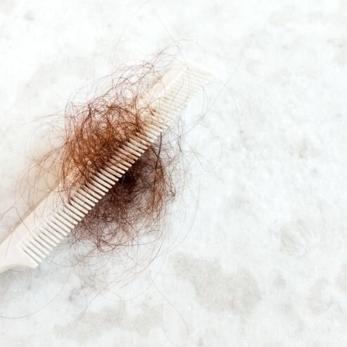 Growing out follicle one hairs multiple of Multiple Hairs,