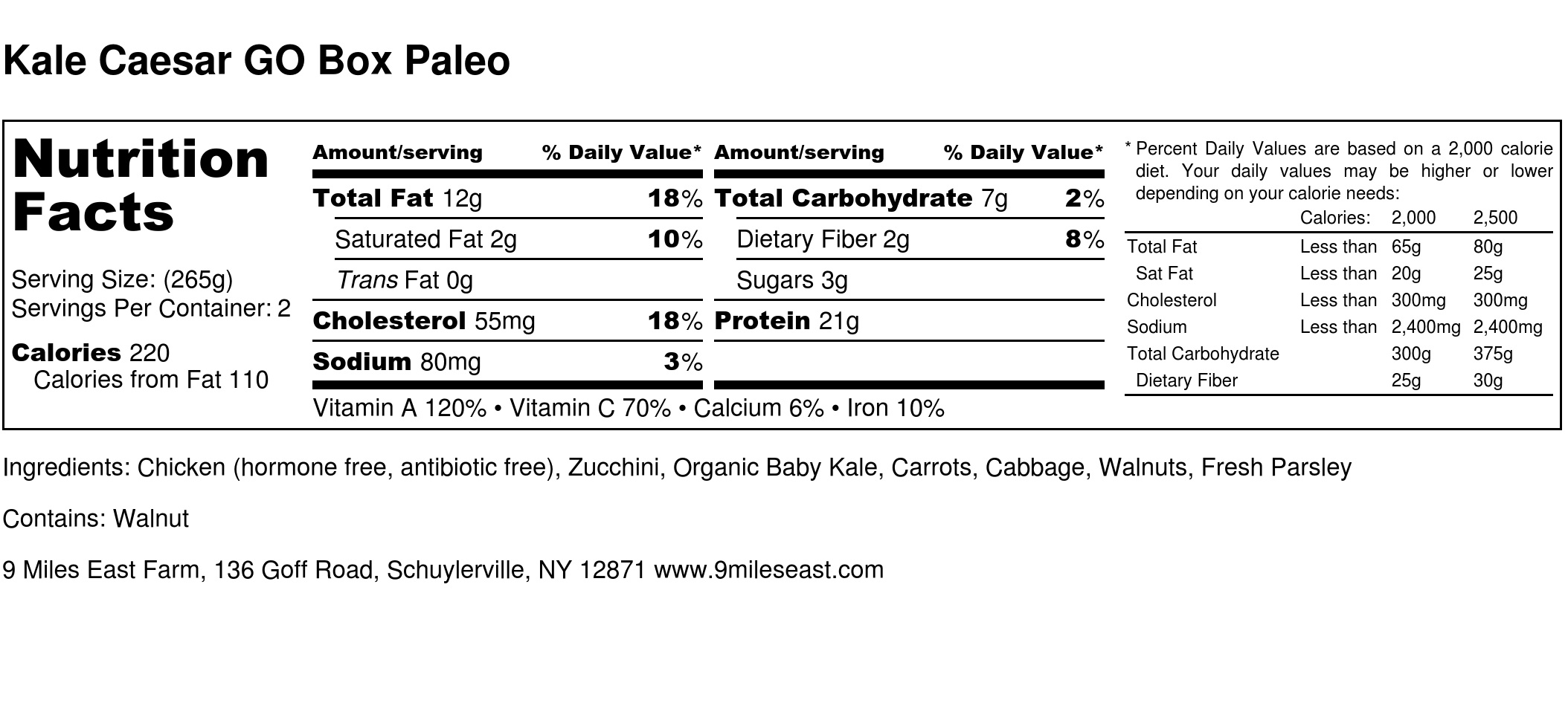 Kale Caesar GO Box Paleo - Nutrition Label.jpg