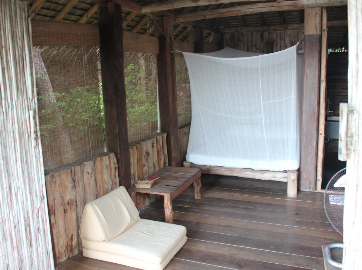 All the huts are uniquely designed.
