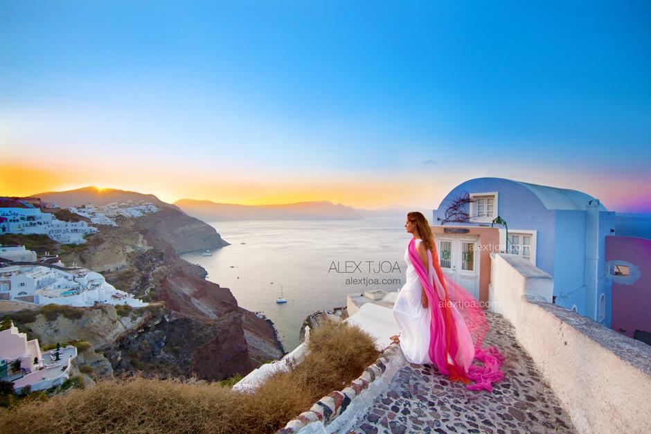 Oia, Santorini. Greece