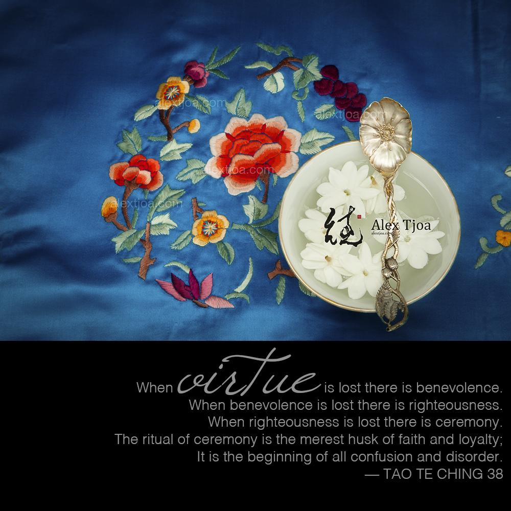 Virtue, Tao Te Ching 38.