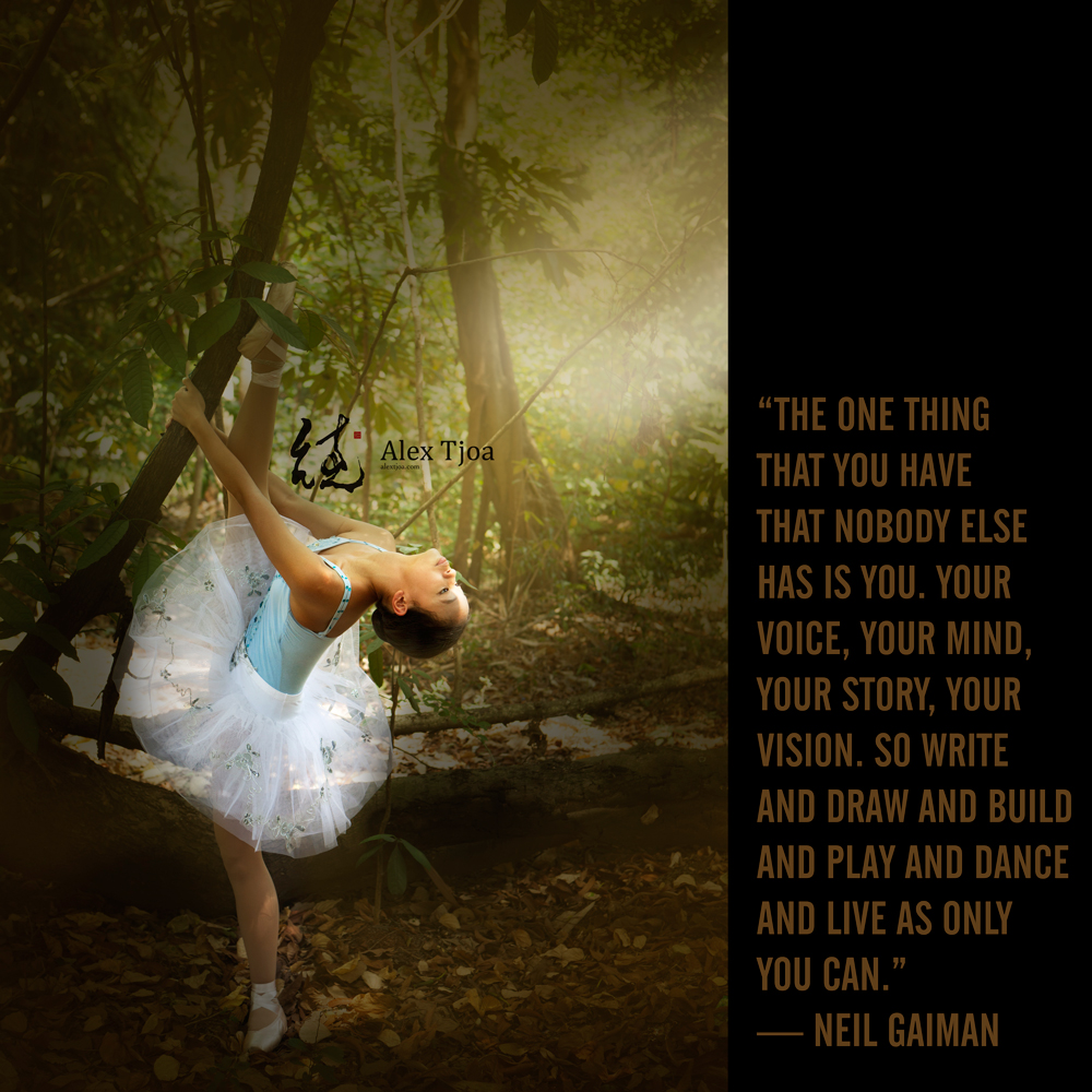 Elfiera, the ballerina.