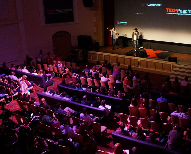Christopher Erk and HeaveN Beatbox performance at #TEDxPT.  Photo credit: TEDxPeachtree Team Flickr.