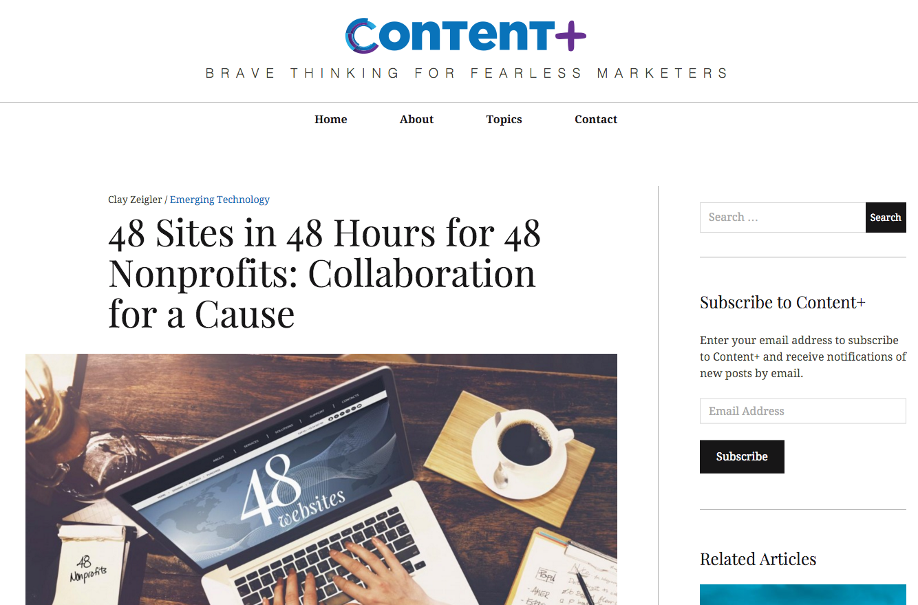 Pace Communications - Content+