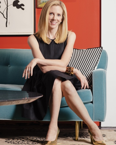 Mary Beech, CMO of Kate Spade New York , has a background in theater which has enabled her to tell stories, read a room, collaborate with others, and present in front of diverse audiences.