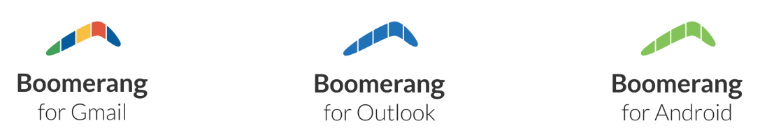 Boomerang for Gmail, boomerang for outlook, boomerang for android