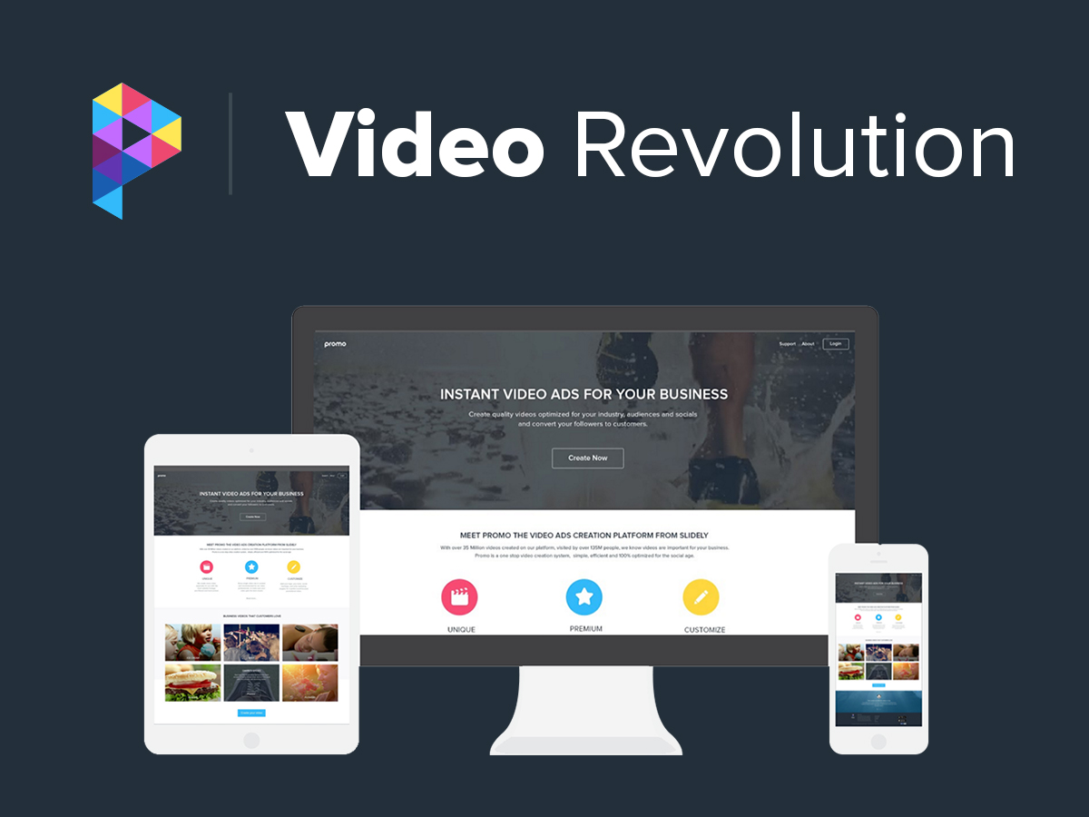 Create beautiful marketing videos with Promo by Slidely