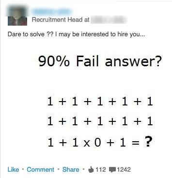LinkedIn Math Problems - Inappropriate LinkedIn Posts