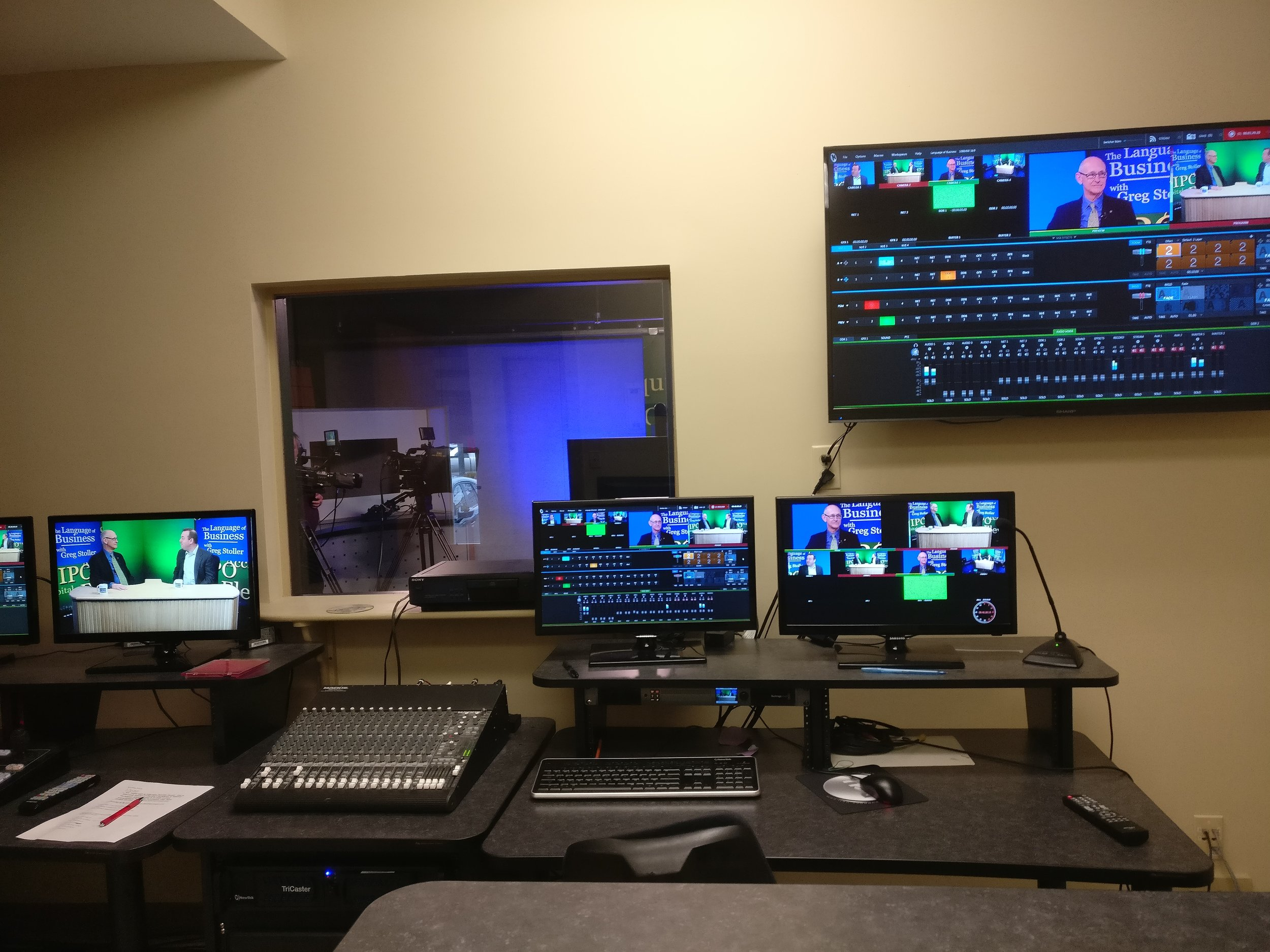 Control Room for The Language of Business