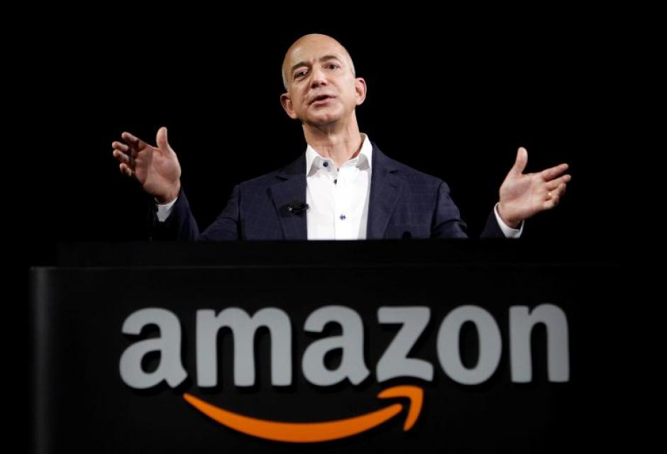 CEO, founder, and billionare of Amazon, Jeff Bezos