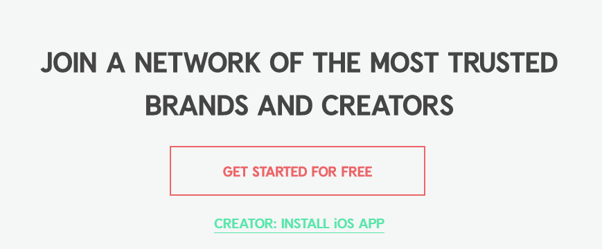Content creators and users can easily connect and create engaging pieces for target marketers using this helpful marketing application.