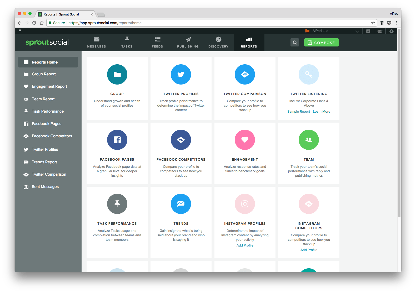 Optimize the social media platform you are using by monitoring, publishing, communicating, and analyzing in a timely manner.