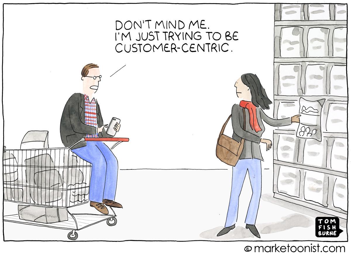 Being customer centric is important to master omni-channel marketing.