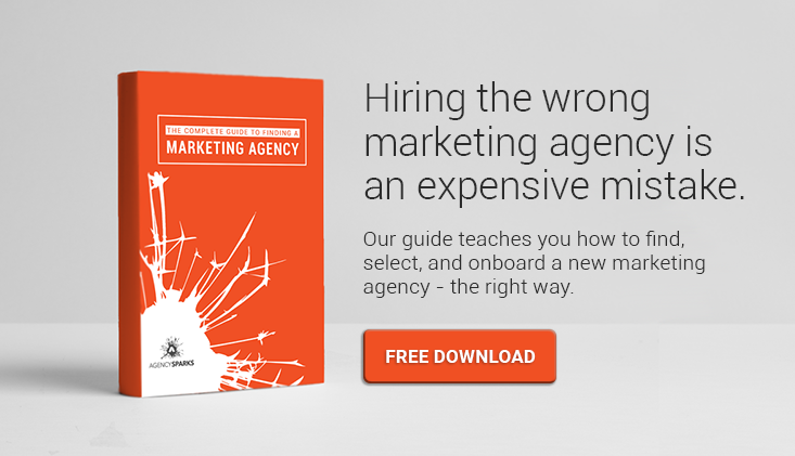 free ebook on how to find the right marketing agency for your brand.