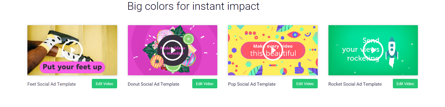 Video for Social is a useful content creator for social media marketers to enhance consumer engagement and increase impressions.