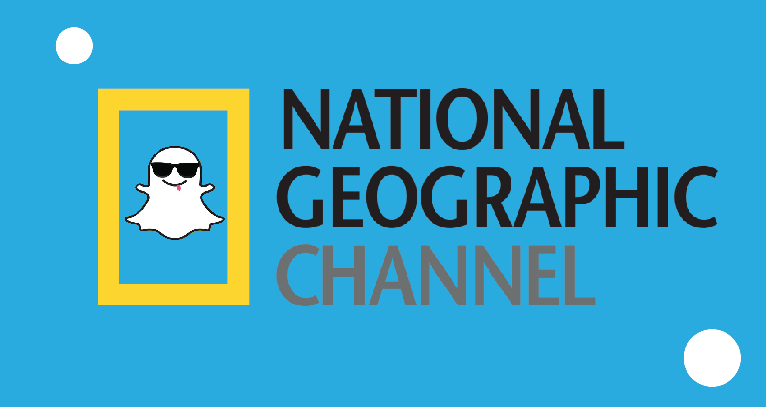 Natgeo has a snapchat to engage with followers.