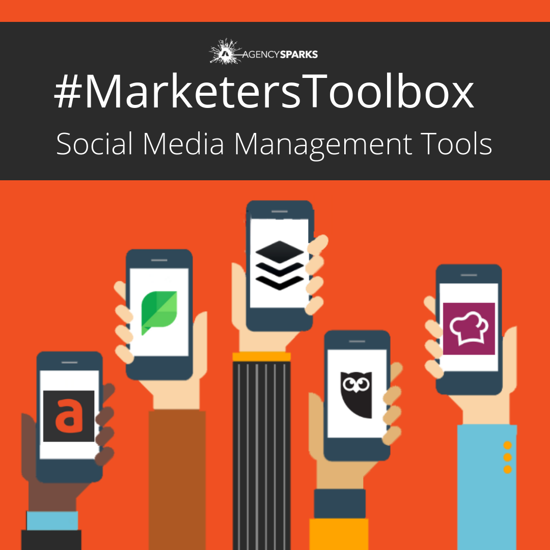 Agorapulse, Sprout Social, Buffer, Hootsuite, and Socialbakers are viable social media management platforms for agencies, brands, and marketers to consider when organizing, scheduling, publishing, and reporting their content marketing.