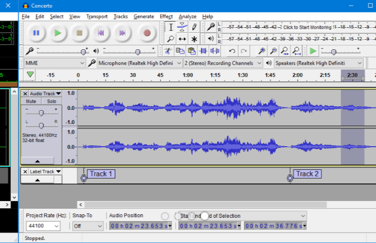 Audacity is a podcast tool used for editing high-quality recordings.