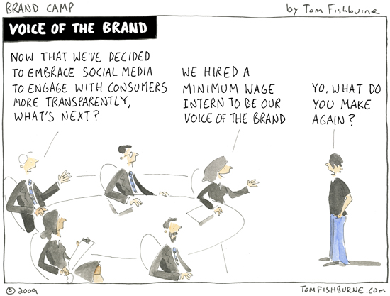 Sometimes companies task an inexperienced intern to head main departments without properly training them.