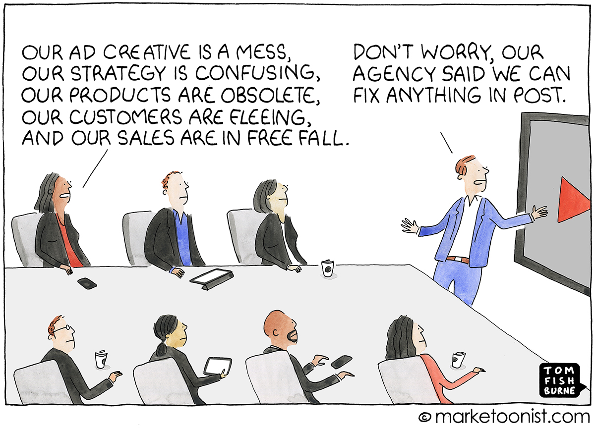When stuck with a marketing agency, brands need to reevaluate their value to the overall marketing strategy.
