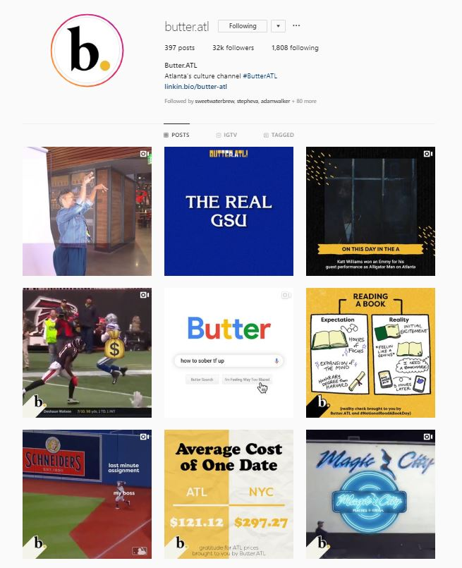 Butter.ATL is a media platform that tells the City of Atlanta's stories.