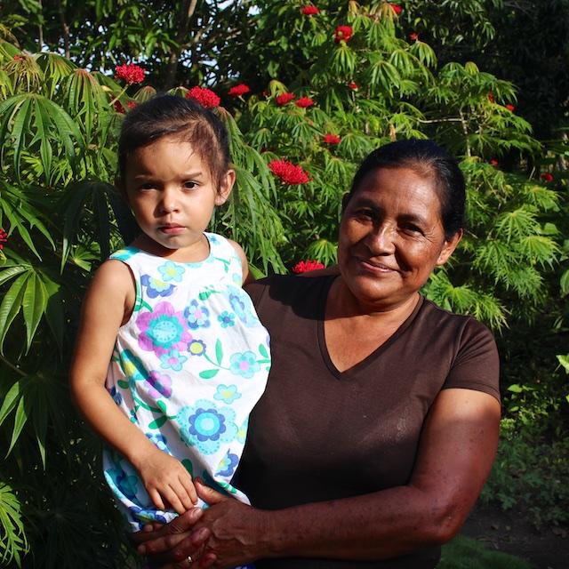 Bertha Lopez, and her granddaughter Samantha