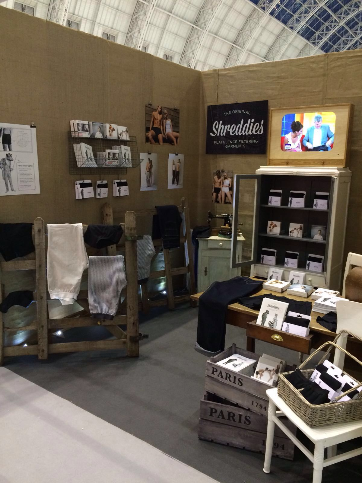 Our stand & home for 3 days - M45