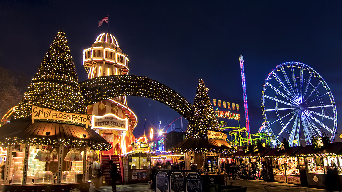 Winter Wonderland, London. (photo credit: www.hydeparkwinterwonderland.com)