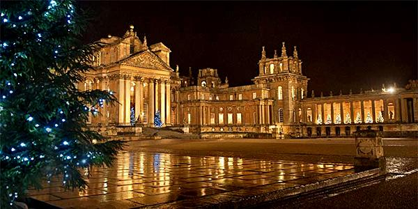 Blenheim Palace Christmas Market, Oxfordshire. (photo credit: www.westoxon.org.uk)