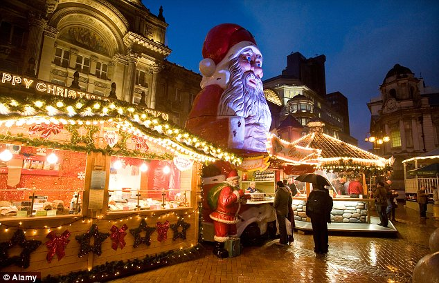 Frankfurt Christmas Market, Birmingham. (photo credit: www.dailymail.co.uk)