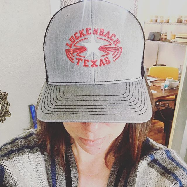 My new fave hat #luckenbach