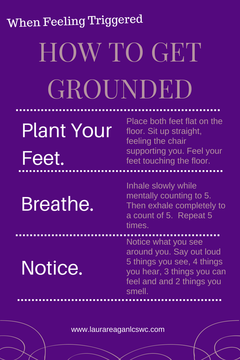 Grounding yourself in your body