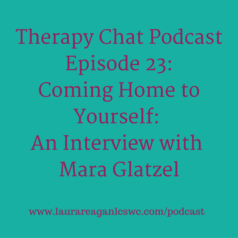 Therapy Chat Interview With Mara Glatzel