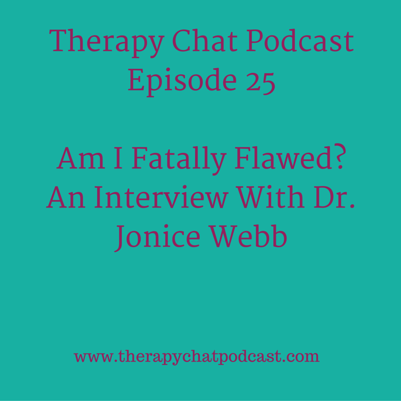 CLICK ON THE IMAGE ABOVE TO LISTEN TO EPISODE 25 OF THERAPY CHAT!