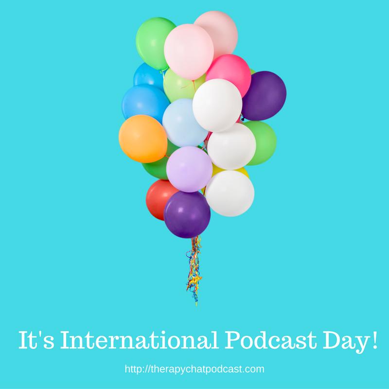 International Podcast Day image Canva