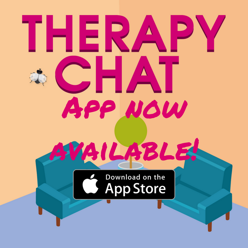 Download the Therapy Chat App on iPhone and iPad! Click on the image to visit the App Store