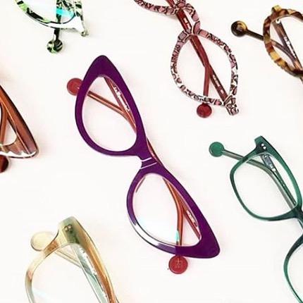 ☁️Daydreams from LA La land ☁️ @laeyeworks  #color #pattern #eyewear #madeinusa #design #manayunk #shopphilly