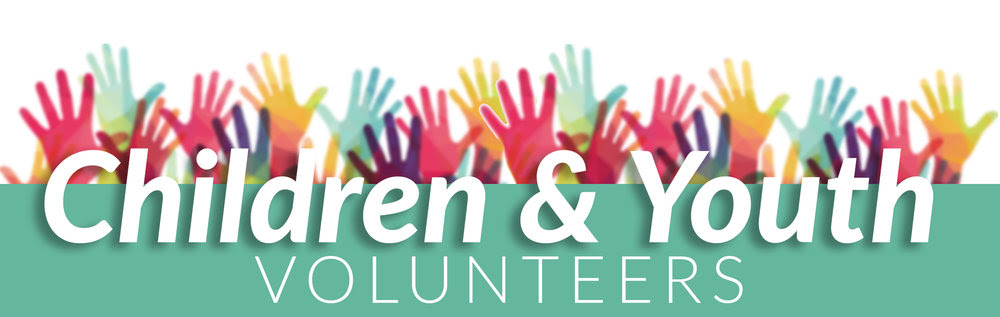 Volunteer in nursery, children, and youth areas on Sundays or Wednesdays.
