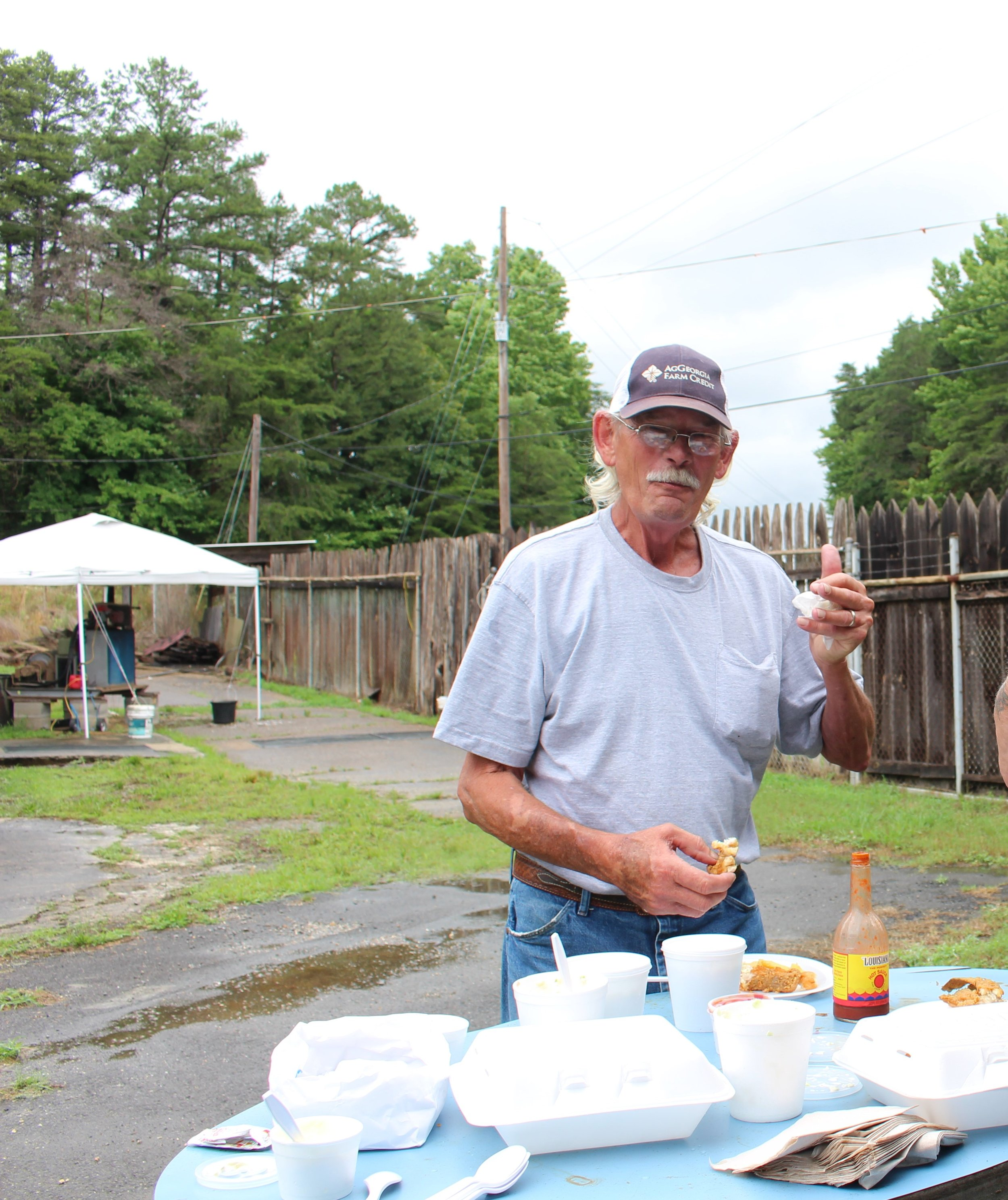 Bennie provided the fishing pond and catfish for our Fish Fry.jpg