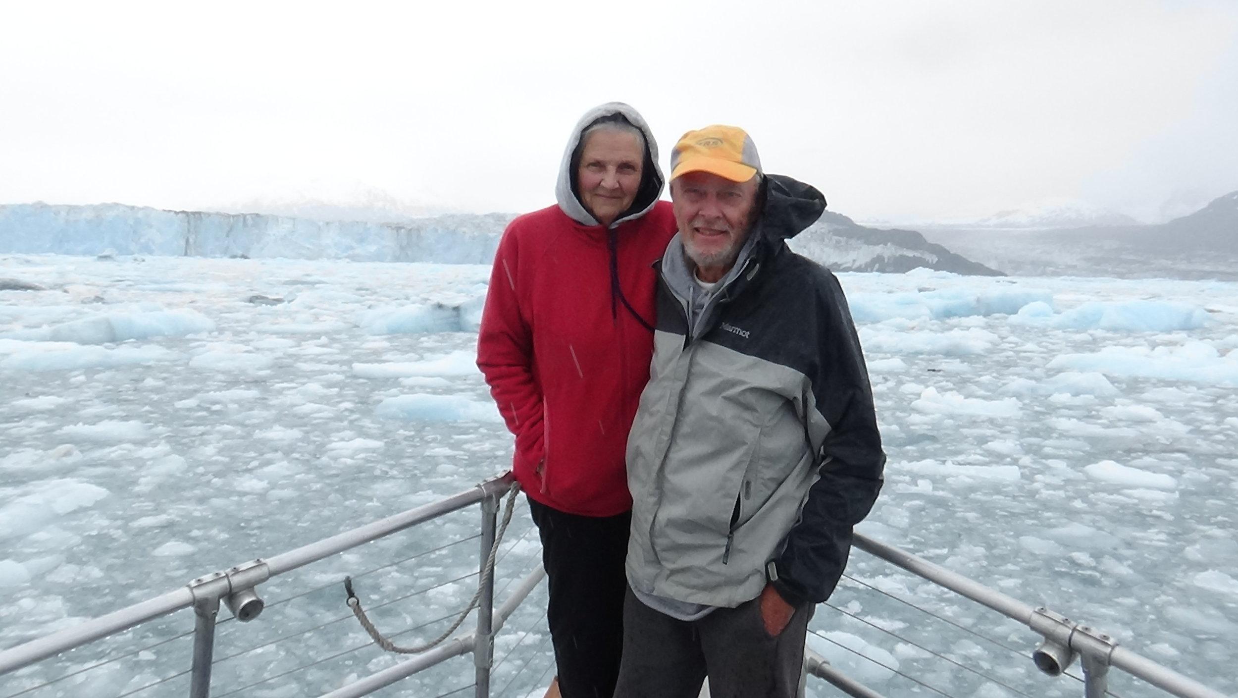 Randy & Doris in Alaska summer 2016