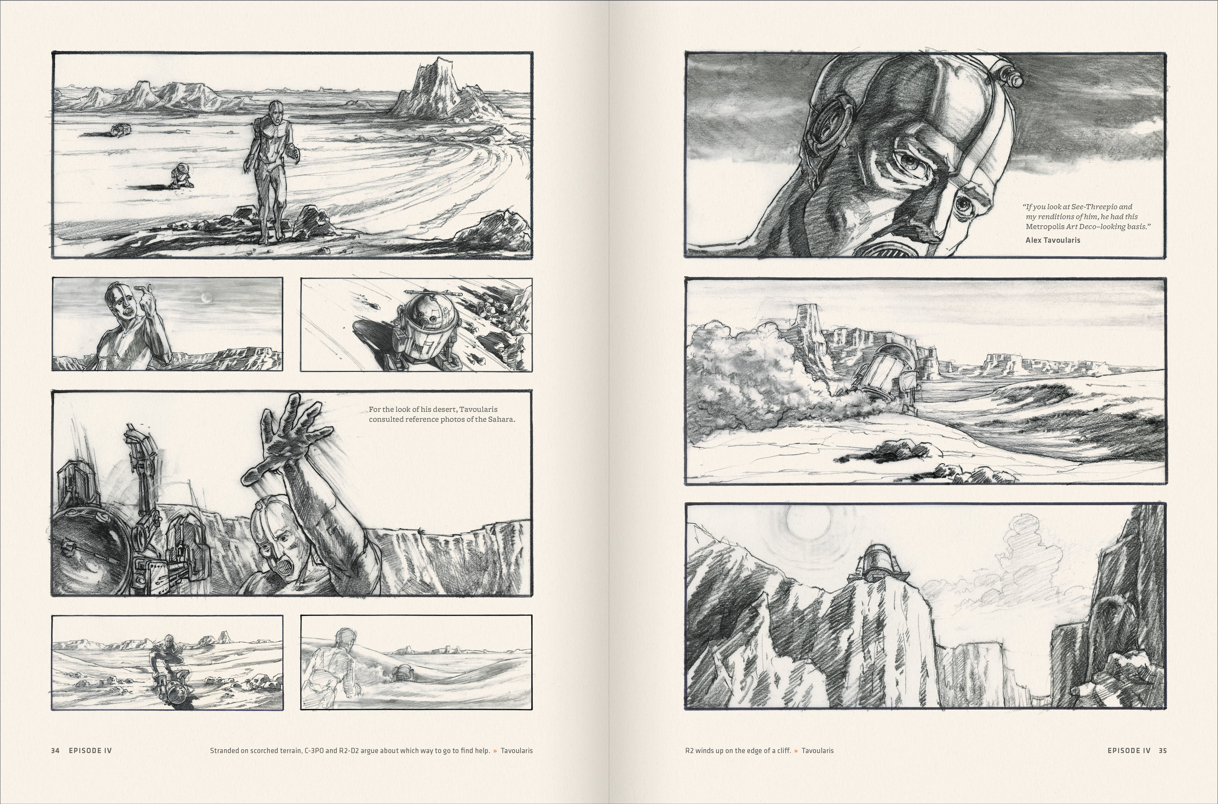 Star Wars Storyboards The Original Trilogy Liam Flanagan