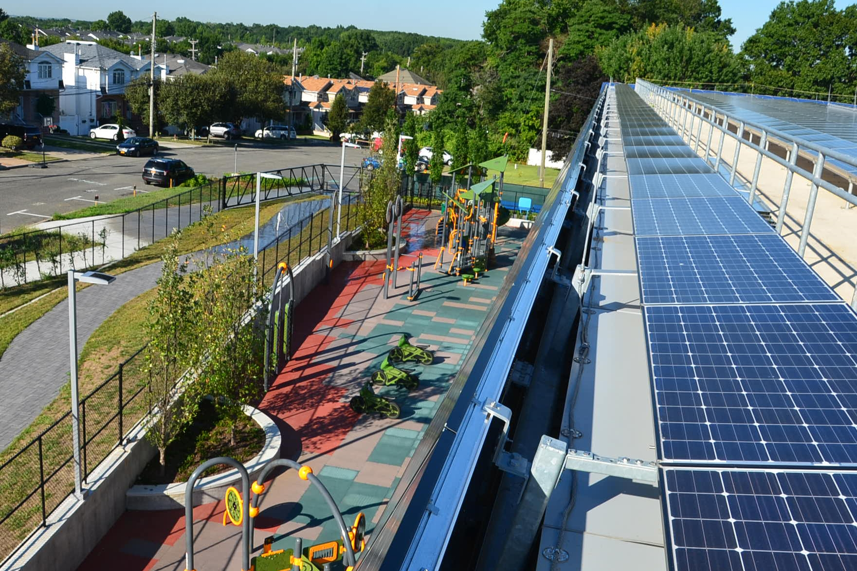 PV Panels Over the Playground
