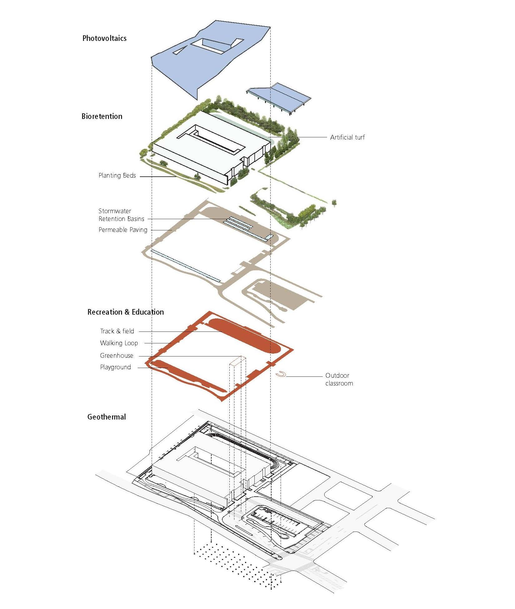 Axonometric Plan