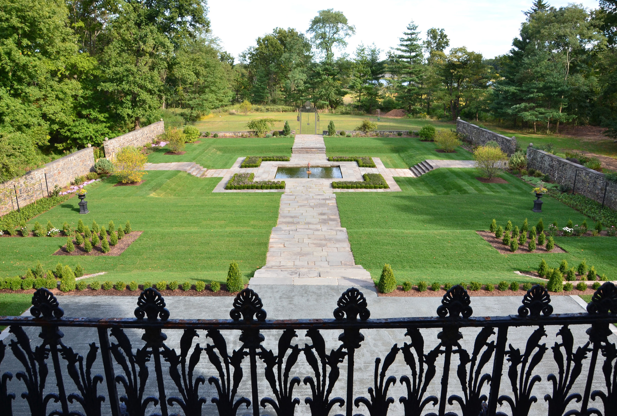 BARTOW PELL FORMAL GARDEN REHABILITATION